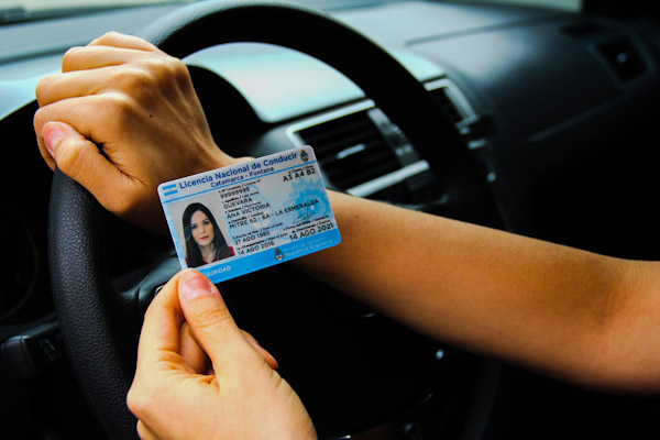 licencia en mano