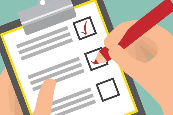 Requisitos para obtener la lista de comprobación del INE