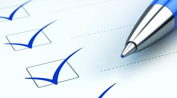 Lista de comprobación de los extractos de la cuenta de EPEC