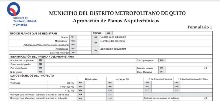formulario de aprobación del proyecto