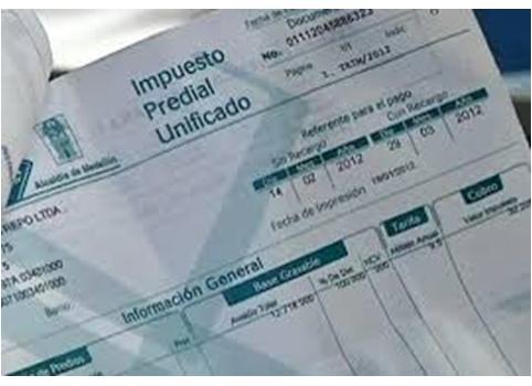 Certificado de impuesto sobre la propiedad