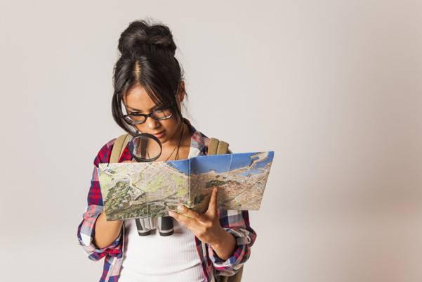 Mujer de nacimiento vivo certificada con mapa