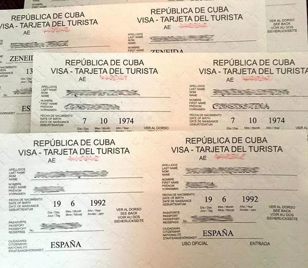 Visado de Cuba