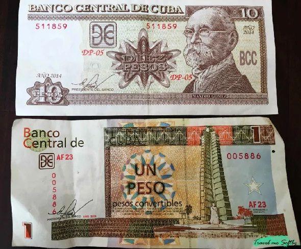 monedas cubanas