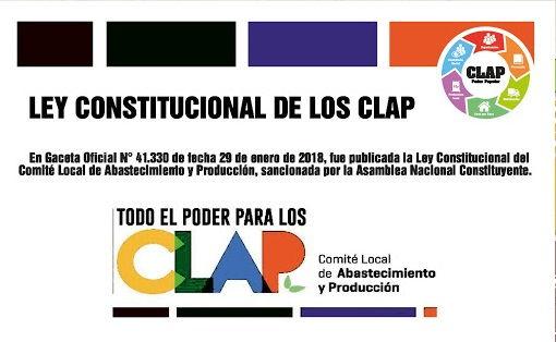 Ley constitucional sobre los comités locales de suministro y producción