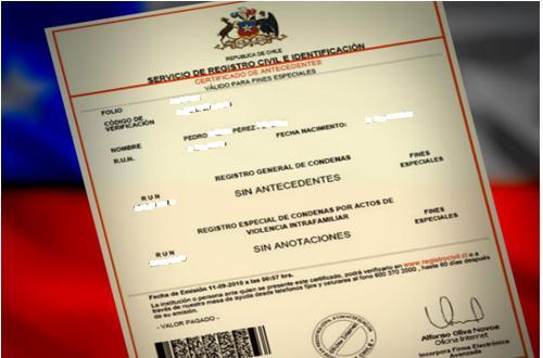 certificado de fondo