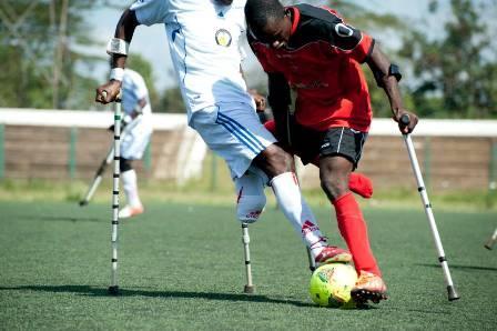discapacidad futbolística
