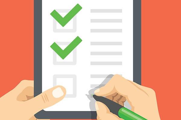 Requisitos para obtener la lista de control RISE