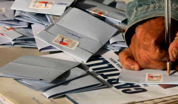 recuento de votos en Chile