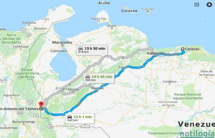 Como viajar por tierra de Venezuela a Colombia en 2019