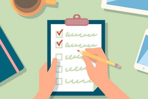 Requisitos de licencia por primera vez, lista de comprobación