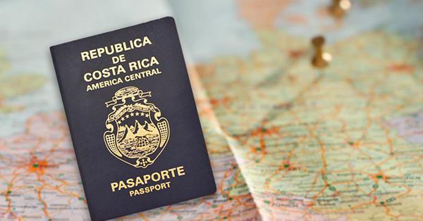 Pasaporte de Costa Rica