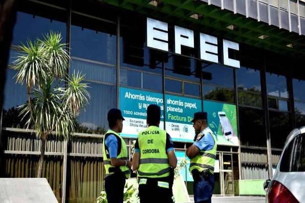 Extracto de cuenta de la sede de la EPEC