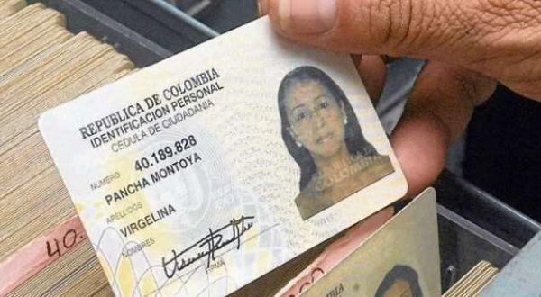 identificación colombiana