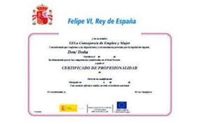 certificado docente