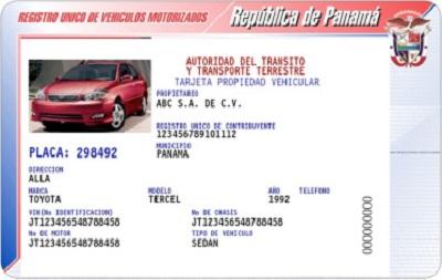 Cómo saber quién tiene un coche en Panamá