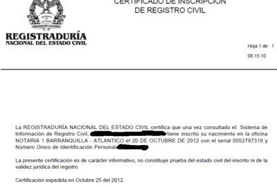certificado de registro 5