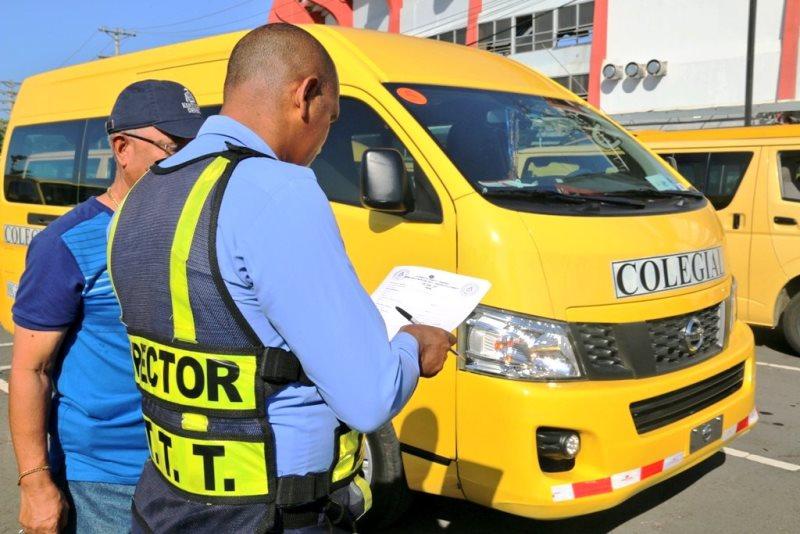 ATTT inicia la inspección de los autobuses escolares el lunes 26 ...