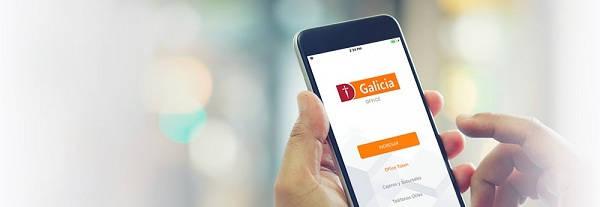Aplicación Banco Galicia