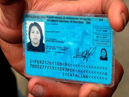 la identidad de una persona