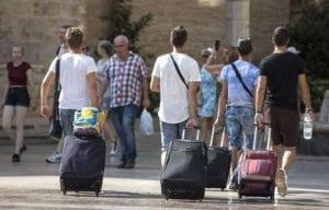 Certificado nacional de autorización para las maletas de estudiantes de agencias de viajes
