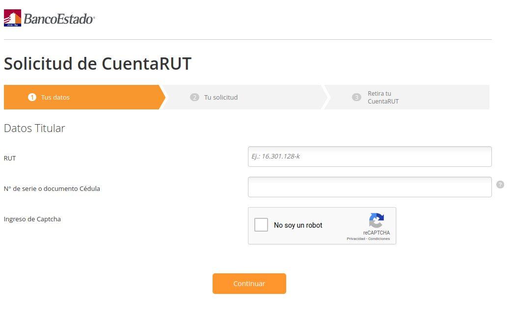 Paso a paso: cómo abrir una cuenta en RUT: requisitos y documentos