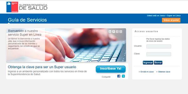 certificado de miembro ISAPRE en línea