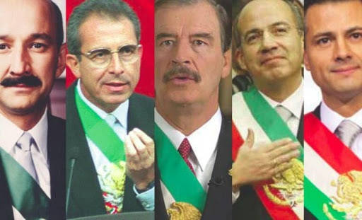 Presentados los presidentes de México