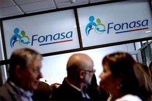 el excedente devuelve la FONASA