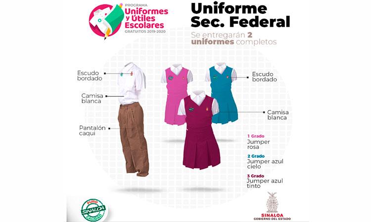 Así pues, recibirá uniformes y suministros gratuitos a Sinaloa para volver a ...