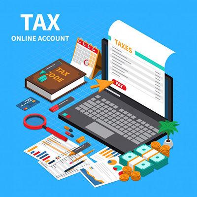 recibo de declaración de impuestos