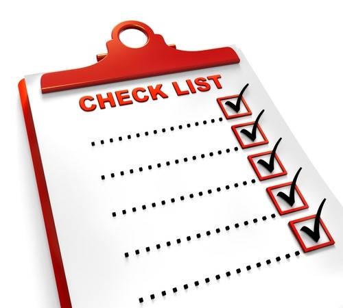 requisitos de lista de verificación para la alcaldía de Colombia