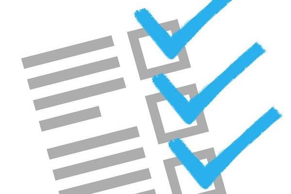 Requisitos para recibir la lista de verificación de la concesión de trabajo