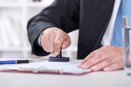 Firma del certificado de crédito fiscal de Panamá