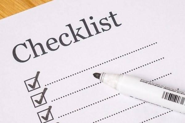 Lista de comprobación de certificados digitales