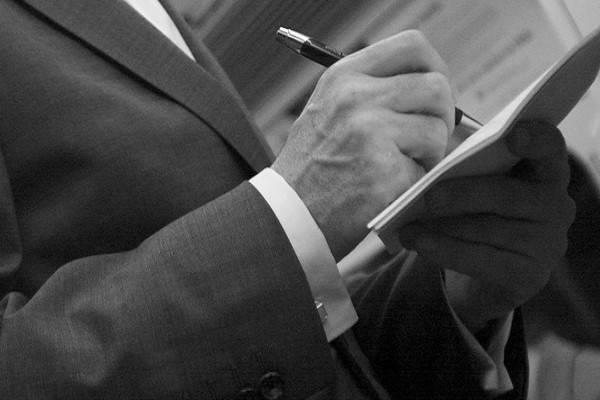Requisitos para firmar el hombre de la Declaración de herederos en Bolivia