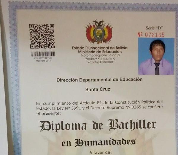 diploma de escuela secundaria