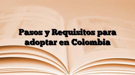 Pasos y Requisitos para adoptar en Colombia