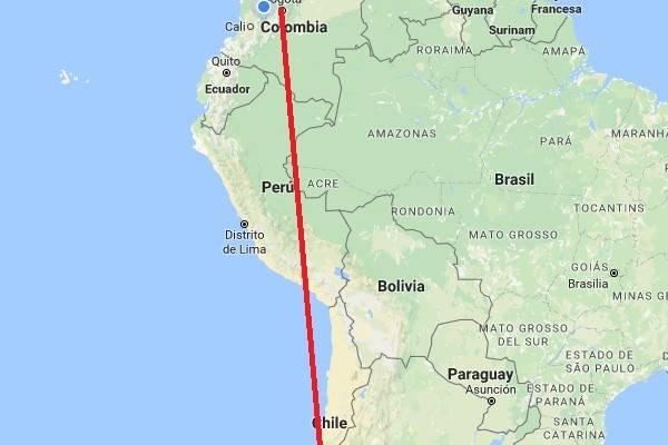 requisitos del mapa para viajar a Chile